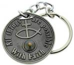 Faith Mustard Seed Key Chain