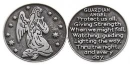 Guardian Angel Protect Us Coins