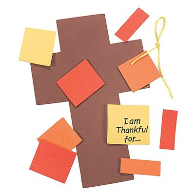 Thanksgiving Cross Craft Kit Package of 12