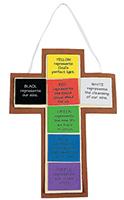 Colors of Faith Foam Cross Craft Kit (Pkg of 12)