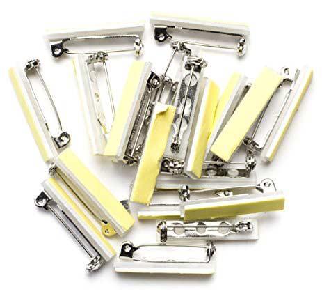 Adhesive Pin Backs (Pkg of 12)