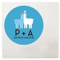 3-Ply Full Color Beverage Napkin Custom Printed