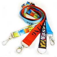 3/4 Inch Full Color Dye-Sublimation Lanyard