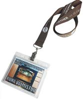 Custom Badge Holder Lanyards Choice of Colors