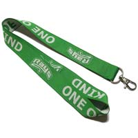 Woven Lanyards 1 Inch with 1 Color Imprint