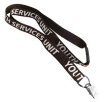 Custom Cotton Eco-Friendly 3/4 Inch Value Lanyards 350 Minimum