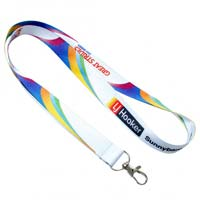 Custom 1 Inch Full Color Dye-Sublimation Lanyard
