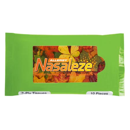 Lime Green Travel Facial Tissues