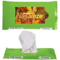 Pocket/Travel Facial Tissues (Minimum 250)