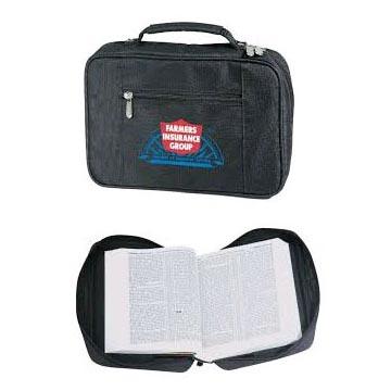 Custom Imprinted Black Bible Cover