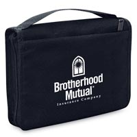 Imprinted Bible Cover w/ Front Pocket