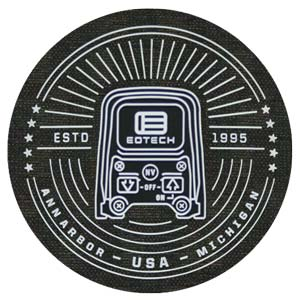3 Inch PVC on Fabric Patches