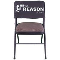 Custom Screen-Printed Twill Chair Cover (75 Minimum)