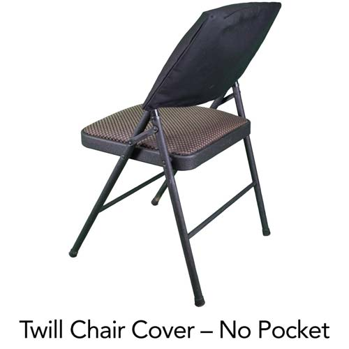 Enjoyable Custom Screen Printed Twill Chair Cover 75 Minimum Pabps2019 Chair Design Images Pabps2019Com