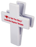9247 Cross Shape Magnetic Memo Clip Holder