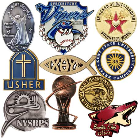 1 Inch Custom Die Cast Lapel Pins