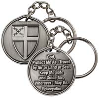 Custom Pewter Key Chains - 1 1/2 Inch