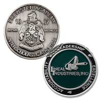Custom Die Struck Coins<br />1 1/2 Inch 1 Sided
