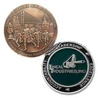 Custom Die Struck Coins<br />1 1/2 Inch 1 Sided