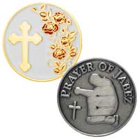 Custom Die Struck Coins<br />2 1/4 Inch 2 Sided