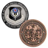 Custom Die Cast Zinc Coins - 1 1/4 Inch