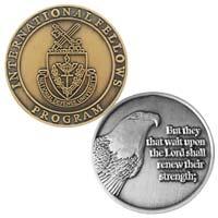 Custom Die Cast Zinc Coins - 1 1/2 Inch