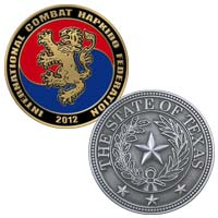 Custom Die Cast Zinc Coins<br />2 1/4 Inch