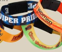 Sublimated Heavy Weight Satin Wristband