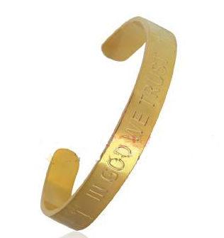 Custom Bracelets Gold & Silver Metal  (500 Pieces)