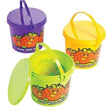 Christian Pumpkin Treat Pails