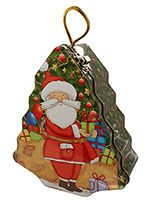 Santa Coin Bank Tree-Shaped or Gift Package