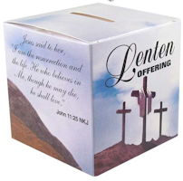 Family Size Lenten Offering Box (Pkg of 50)