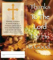 $10.00 Give Thanks Coin Folder (Pkg of 50)