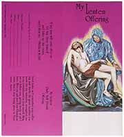 $10.00 Pieta Lenten Offering Coin Folder (Pkg of 50)