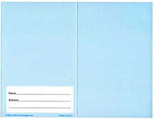 $20.00 Blank Dollar Bill Folder (Pkg of 50)