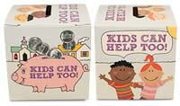 Kids Can Help Too Donation Box