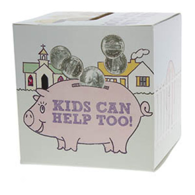 Kids Can Help Too Offering Box (Pkg of 50)