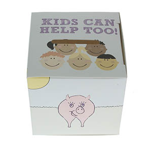 Kids Can Help Too Offering Box