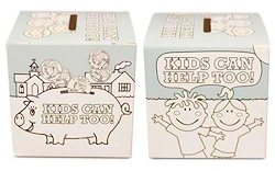 Kids Can Help Coloring Donation Box