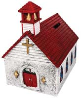 Hand Painted Church Bank