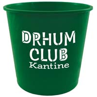 Customized Donation Offering Buckets Large Plastic (Minimum 25)