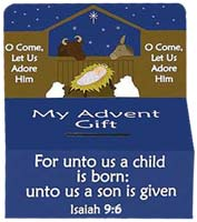 Advent Offering Box