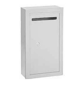 Aluminum Outdoor  Locked Donation Box
