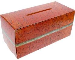 Brick Building Fund Cardboard Donation Box