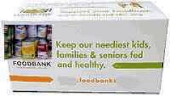 Food Bank or Pantry Custom Donation Box