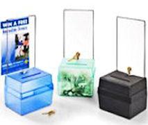 Medium Size Locking Fundraising Donation Box