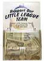 Little League, Softball Donation Box Fundraising