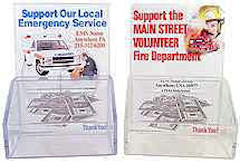 Fire Department or EMS [Blank Name] Donation Box