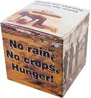 Rice Bowl Donation Box Feed the Hungry (Pkg of 50)