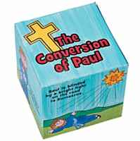 Color Your Own Box Story of Paul (Pkg of 12)